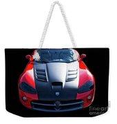 Dodge Viper Roadster Weekender Tote Bag