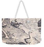 Dodo Bird, Hunted To Extinction Weekender Tote Bag