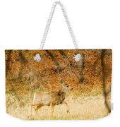 Doe High Stepping On Bald Mountain Weekender Tote Bag