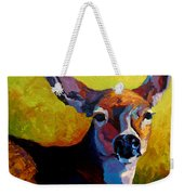 Doe Portrait V Weekender Tote Bag