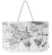 Doellan Sur Mer, Le Port Weekender Tote Bag
