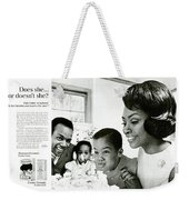 Does She Or Doesn't She Weekender Tote Bag