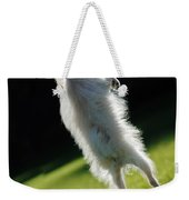 Dog - Jumping Weekender Tote Bag