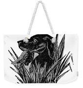 Dog, 19th Century Weekender Tote Bag