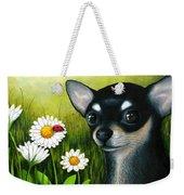 Dog 79 Chihuahua Weekender Tote Bag