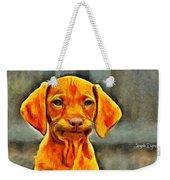 Dog Friend Weekender Tote Bag