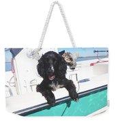 Dog Happy Birthday Card Weekender Tote Bag