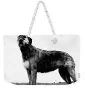 Dog: Irish Wolfhound Weekender Tote Bag