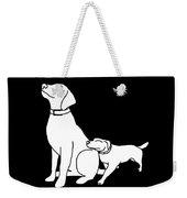 Dog Love Tee Weekender Tote Bag