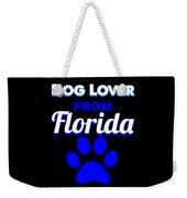 Dog Lover From Florida Weekender Tote Bag