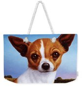 Dog-nature 3 Weekender Tote Bag by James W Johnson