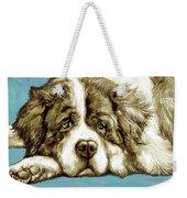 Dog -  New Pop Art Poster Weekender Tote Bag