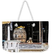 Dog Tavern With Oranges Weekender Tote Bag
