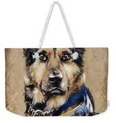 Dog Traditional Drawing Weekender Tote Bag