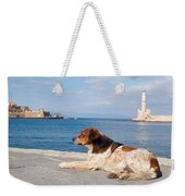 Dog Watch Weekender Tote Bag