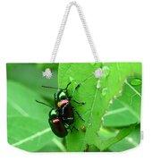 Dogbane Beetles Weekender Tote Bag