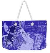 Doge Jumps For Treat 2 Weekender Tote Bag