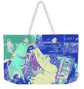 Doge Jumps For Treat 8 Weekender Tote Bag