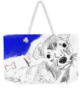 Doggie Dreams Weekender Tote Bag