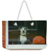 Doggie In The Window Weekender Tote Bag