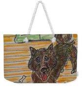 Doggy Snack Time Weekender Tote Bag