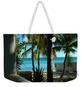 Dog's Beach Key West Fl Weekender Tote Bag
