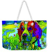 Dogs Can See In Color Weekender Tote Bag