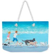 Dogs Day Out Weekender Tote Bag