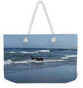 Dogs In The Surf Weekender Tote Bag
