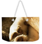 Dogs Paws Weekender Tote Bag