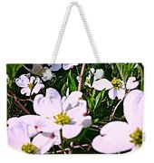 Dogwood Blossoms Pair Up Weekender Tote Bag