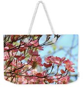 Dogwood Flowering Trees Pink Dogwood Flowers Baslee Troutman Weekender Tote Bag