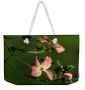 Dogwood In Pink Weekender Tote Bag