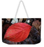 Dogwood Leaf Weekender Tote Bag