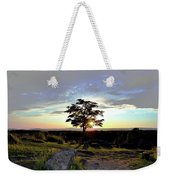 Dogwood On Little Round Top Weekender Tote Bag