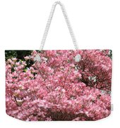 Dogwood Tree Flowers Art Prints Canvas Pink Dogwood Weekender Tote Bag
