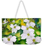 Dogwood Tree Flowers Weekender Tote Bag