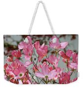 Dogwood Trees Flower Blossoms Art Baslee Troutman Weekender Tote Bag