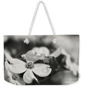 Dogwoods In Black And White Weekender Tote Bag