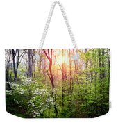 Dogwoods In The Forest Weekender Tote Bag