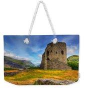 Dolbadarn Castle  Weekender Tote Bag