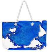 Dolphin World Map Weekender Tote Bag