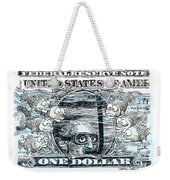 Dollar Submerged Weekender Tote Bag