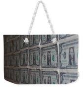 Dollars Weekender Tote Bag