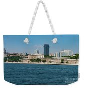 Dolmabahce Palace On The Bosphorus Weekender Tote Bag
