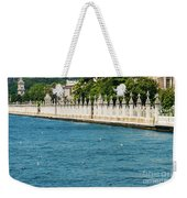 Dolmabahce Palace Tower And Fence Weekender Tote Bag