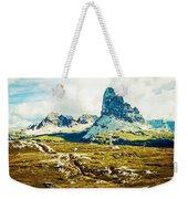 Dolomites, Monte Piana, Italy Weekender Tote Bag