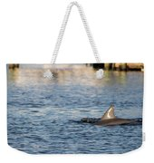 Dolphin By The Dock Weekender Tote Bag