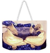 Dolphin Family Weekender Tote Bag