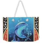 Dolphin Mecca Weekender Tote Bag